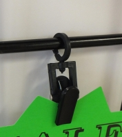 Clip On Sign Holders