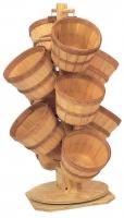 Wood Basket Displays