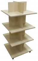 4 Tier Shelf Display