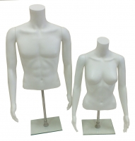 Realistic Mannequin Forms