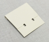 "Grey 1-3 - 4"" Pierced Earring Card"
