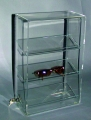 Acrylic Counter Display Case with 3 Shelves