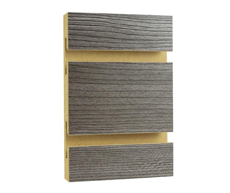 Rustic Grey Slatwall