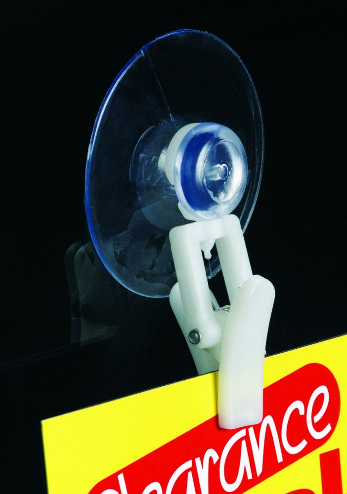 Suction Cup with Clever Clip