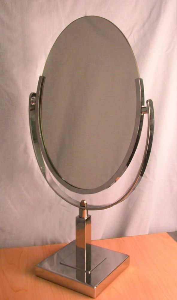Double Face Oval Mirror