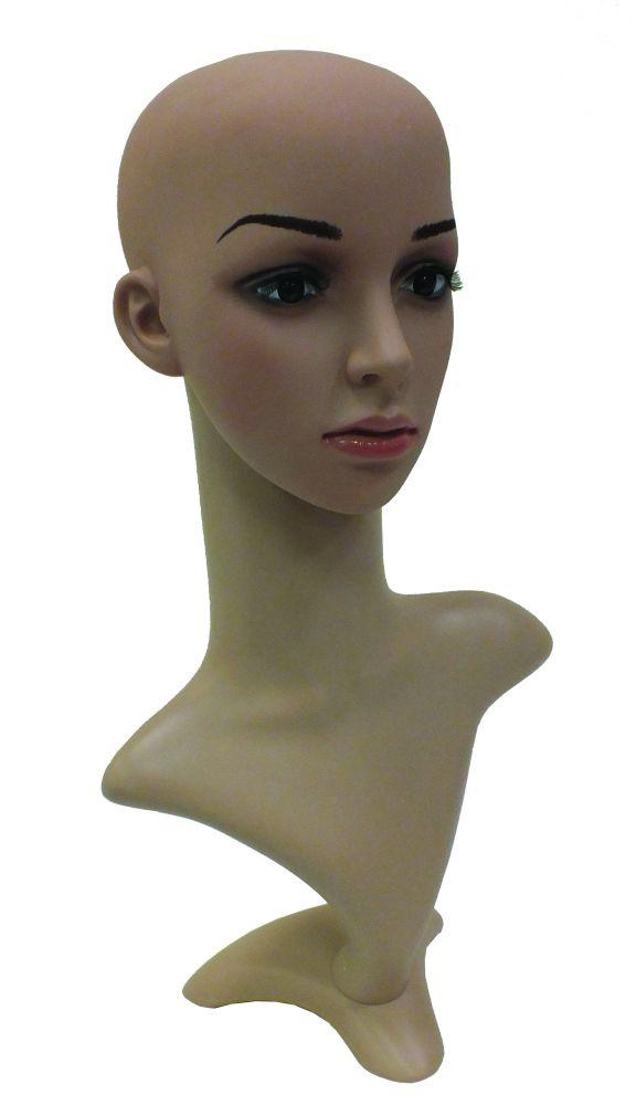 Female Head Display