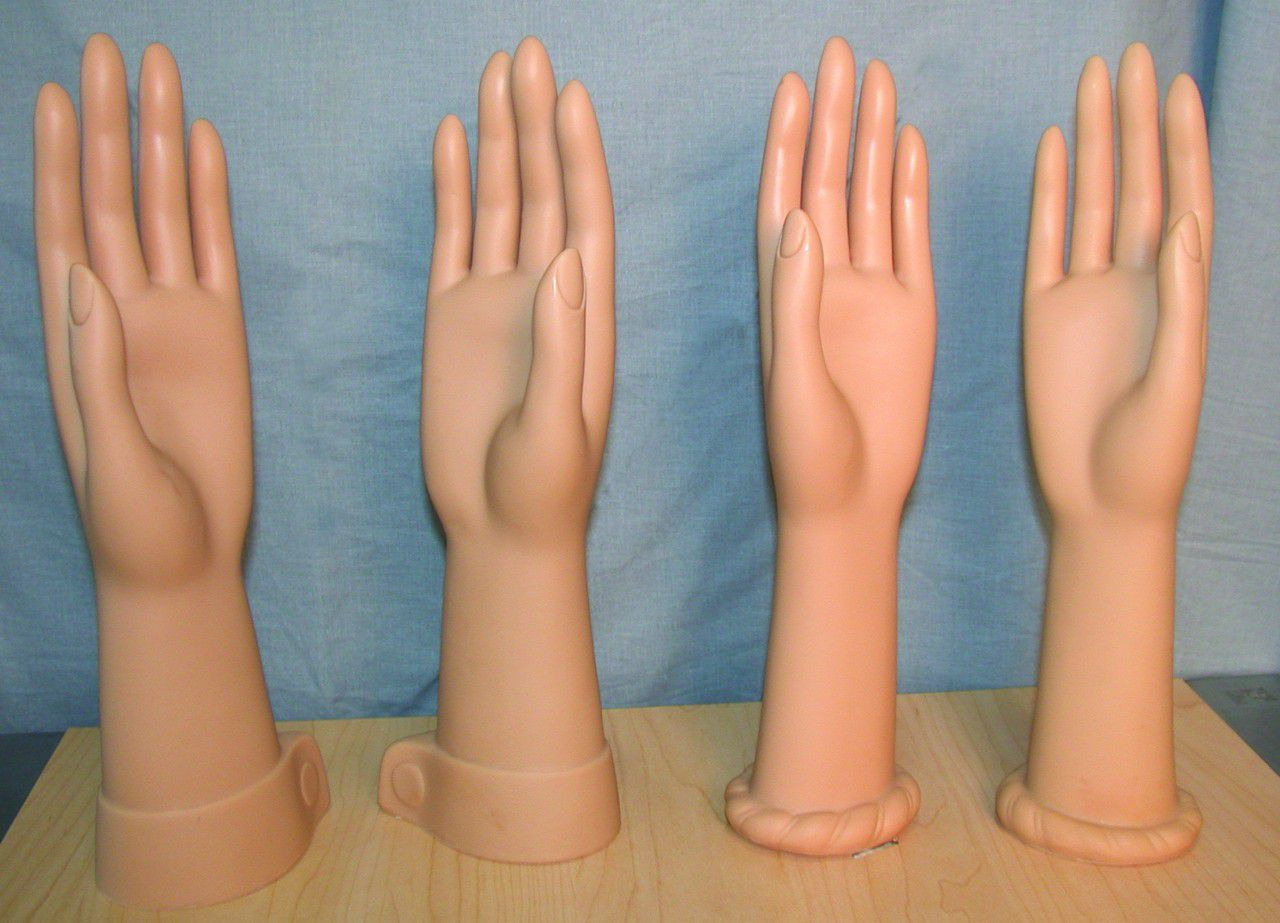 Vinyl Glove Hands