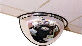 Half Dome Security Mirror