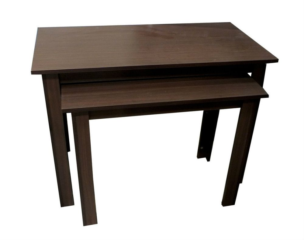 Nested retail display tables silver nesting oak
