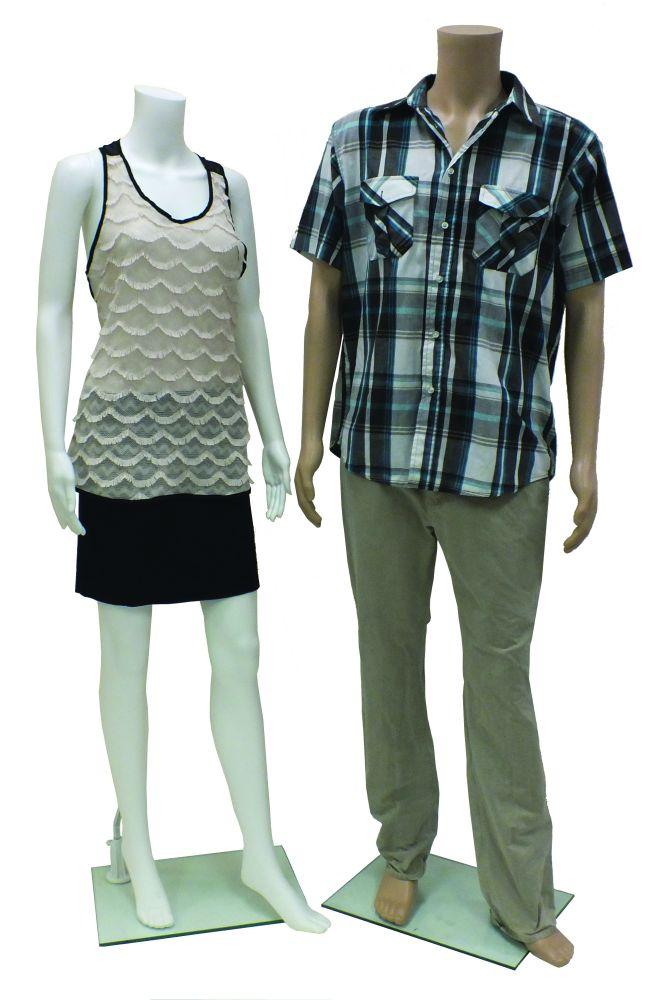 Plastic Headless Mannequins
