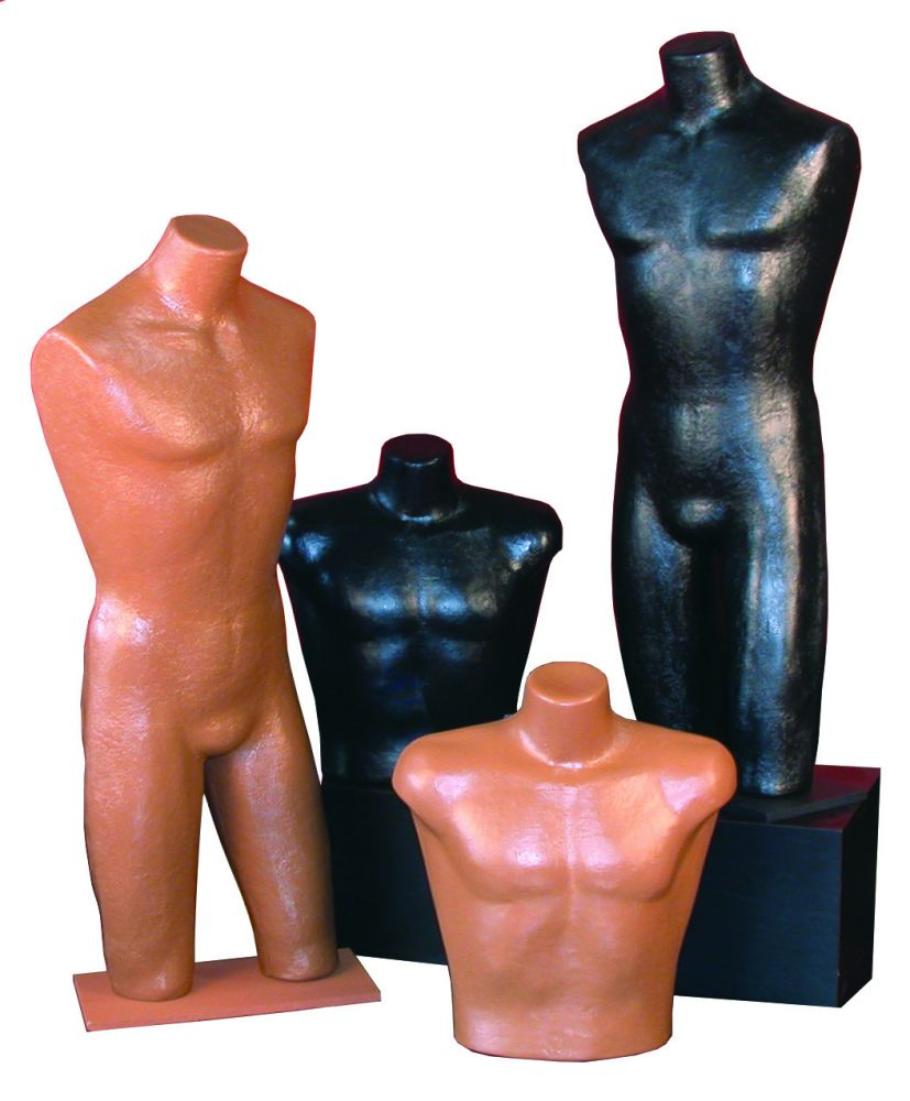Realistic Male Body Forms