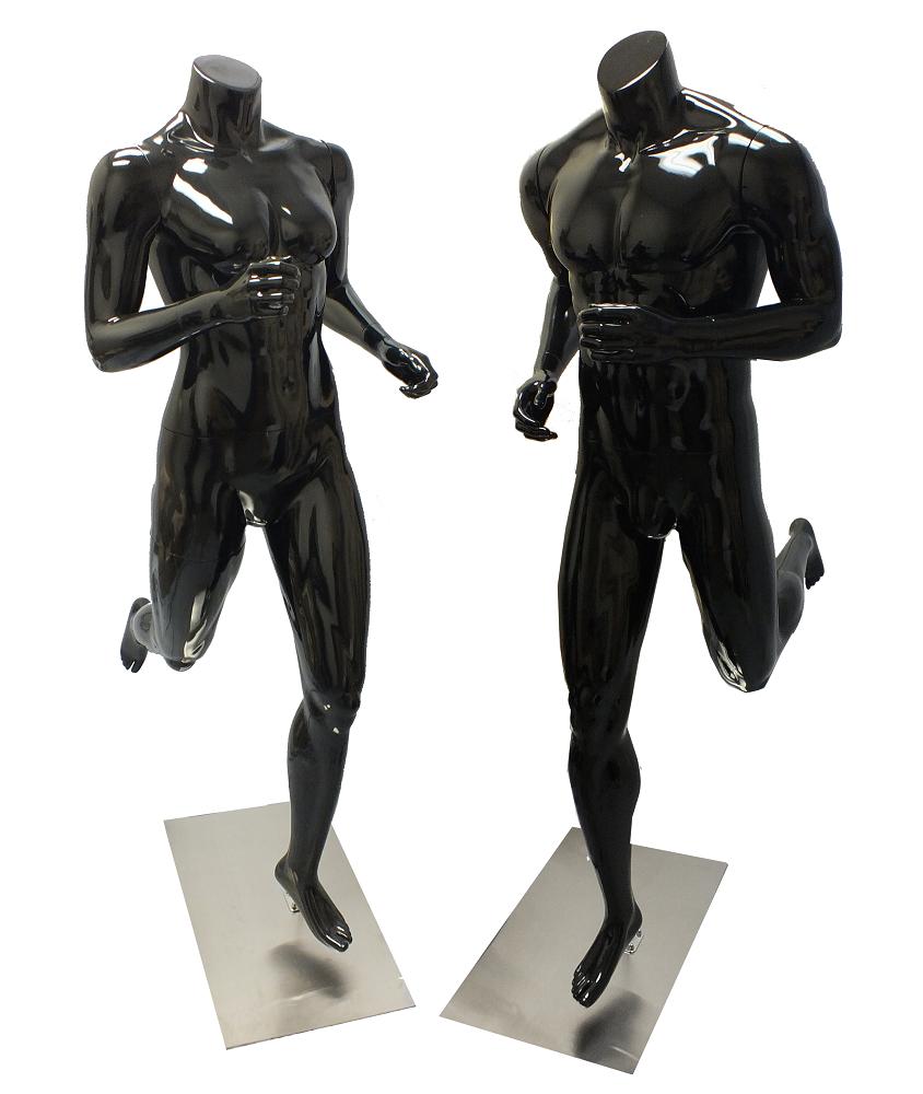 Fiberglass Running Mannequins