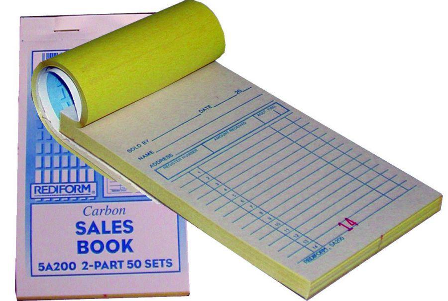 Carbon Copy Sales Book