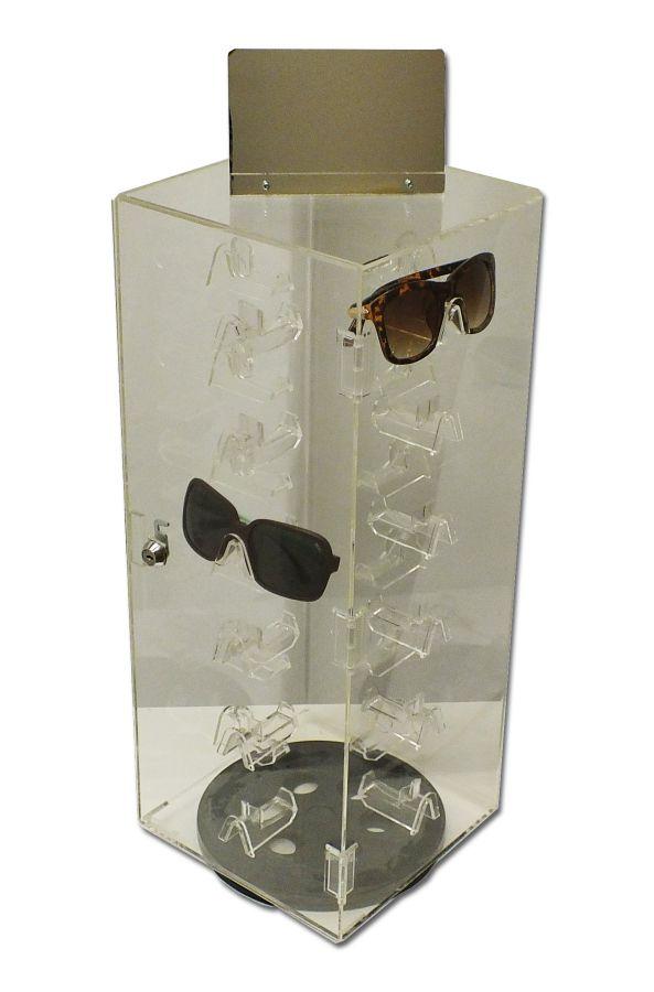 Security Lock Eyewear Display