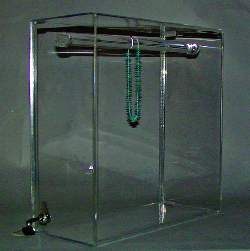 Single Bar Locking Necklace Case