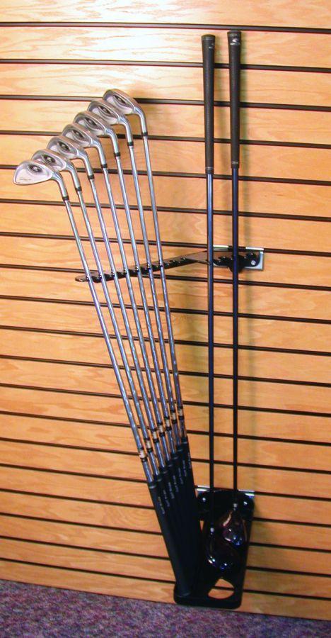Self Selector Golf Club Display Rack