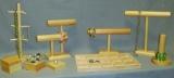 Economy Wood Jewelry Displays