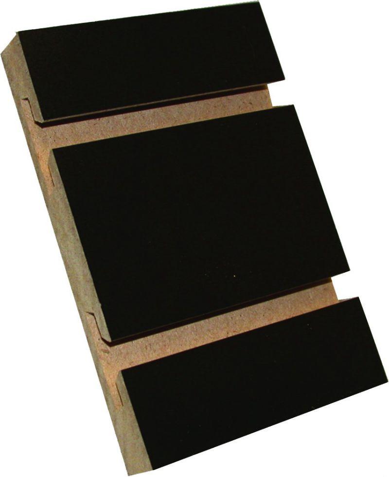 Black Slatwall