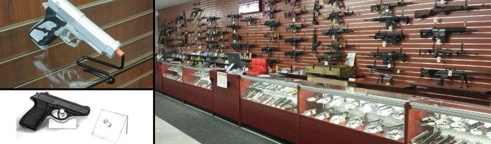 Nice Firearm Displays
