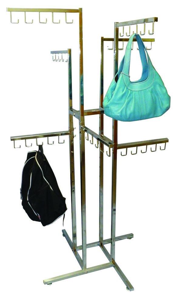 J Hook Faceout Handbag Rack
