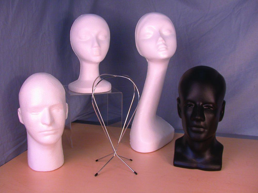 Styrofoam Heads