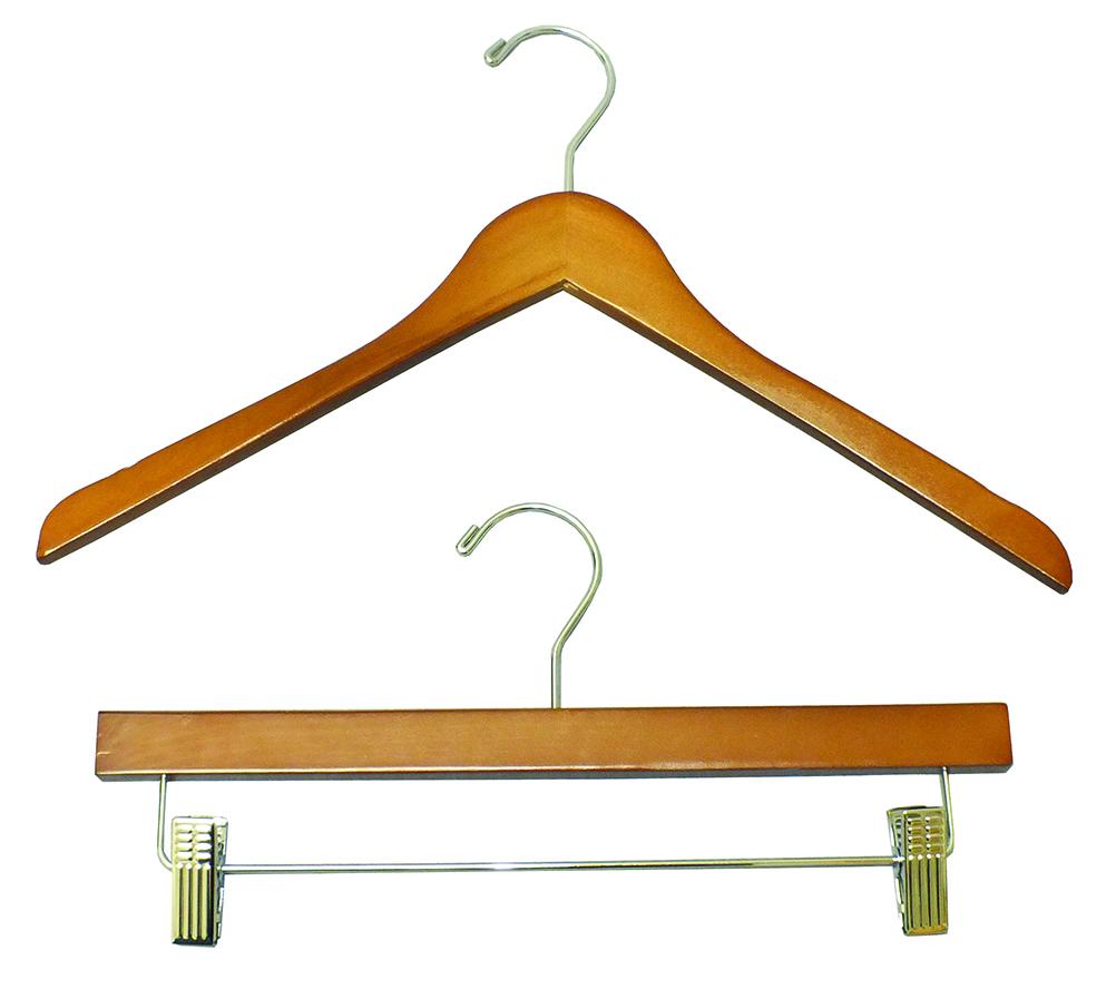 Natural Mahogany Hangers