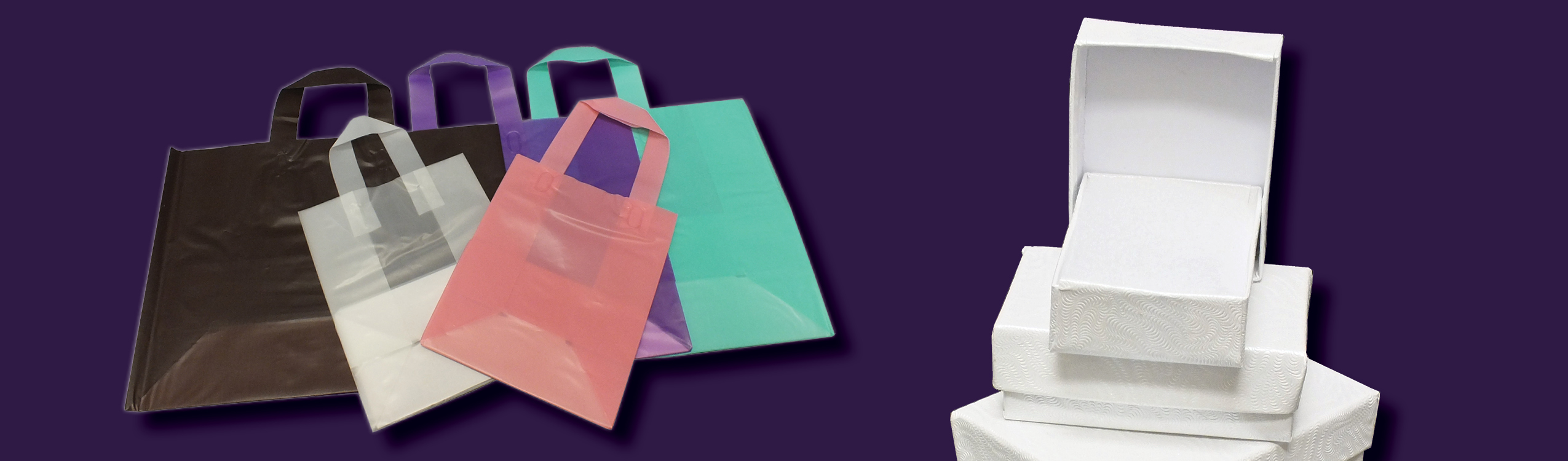 Bags, Boxes & Retail Packaging