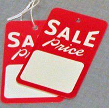 """Sale Price"" Tags"