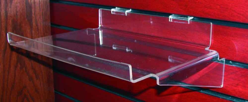 Acrylic Shelves for Slatwall