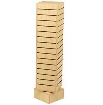 Slat Wall Rotating Towers