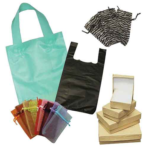 Bags, Boxes and Retail Packaging